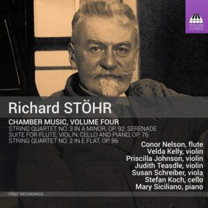 Richard Stohr: Chamber Music, Vol.4 - Conor Nelson