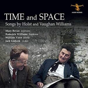 Time And Space, Songs By Holst And Vaughan Williams - Roderick Williams