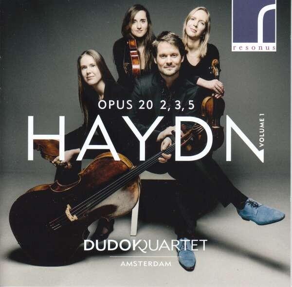 Haydn: String Quartets Op.20 Nos.2, 3 & 5 - Dudok Quartet Amsterdam