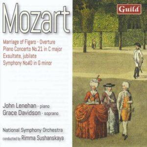 Mozart: Piano Concerto No.21, Symphony No.40 - John Lenehan