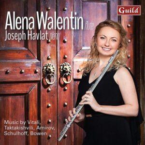 Music By Vitali, Taktakishvili, Amirov, Schulhoff, Bowen - Alena Walentin