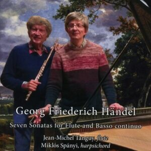 Handel: Seven Sonatas For Flute And Basso Continuo - Jean-Michel Tanguy