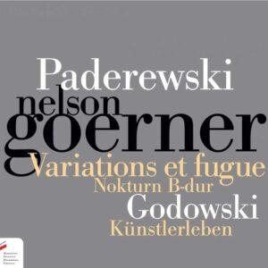 Paderewski: Variations et Fugue - Nelson Goerner