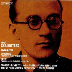 Nikos Skalkottas: Sinfonietta, Concerto, Suite - Giorgios Demertzis