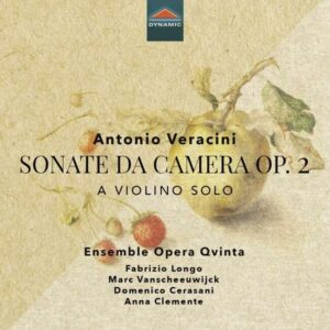 Antonio Veracini: Sonate Da Camera Op. 2 - Ensemble Opera Qvinta