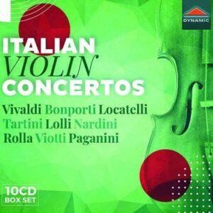 Italian Violin Concertos (10 CDs)
