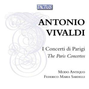 Antonio Vivaldi: The Paris Concertos - Modo Antiquo