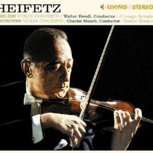 Sibelius / Beethoven: Violin Concerto - Jascha Heifetz