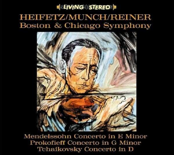 Mendelssohn / Tchaikovsky / Prokofiev: Violin Concerto - Jascha Heifetz