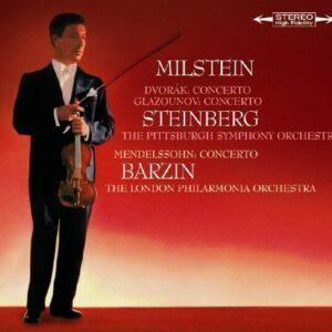 Dvorak / Glazunov / Mendelssohn: Violin Concerto - Nathan Milstein