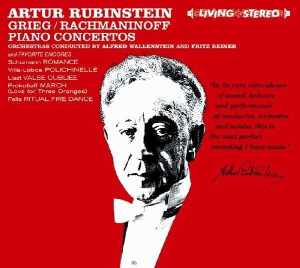Grieg: Piano Concerto / Rachmaninov: Piano Concerto No.2 - Arthur Rubinstein