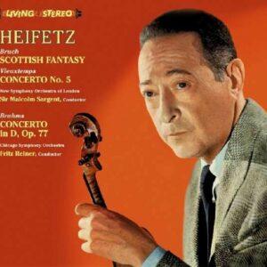 Vieuxtemps / Bruch / Brahms - Jascha Heifetz