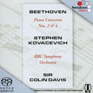Beethoven: Piano Concertos Nos. 2 & 4 - Stephen Kovacevich