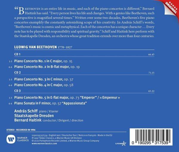 Beethoven: The 5 Piano Concertos - Andras Schiff
