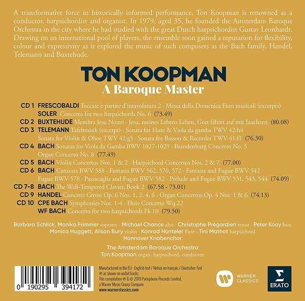 A Baroque Master - Ton Koopman