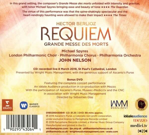 Berlioz: Requiem - Michael Spyres