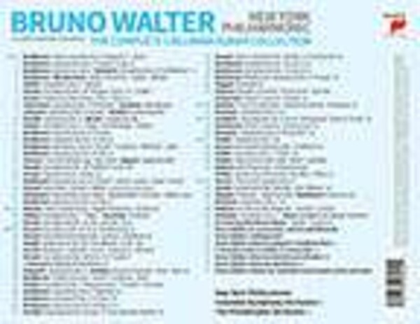 The Complete Columbia Album Collection - Bruno Walter