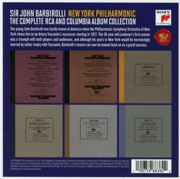 The Complete RCA And Columbia Recordings - John Barbirolli