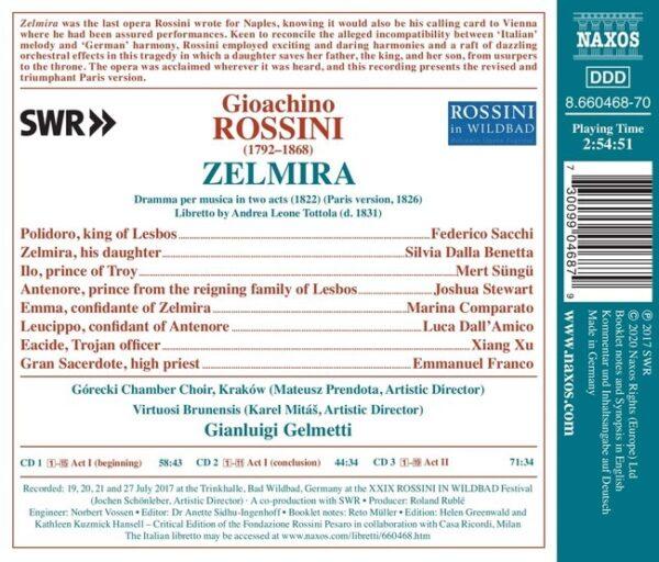 Gioacchino Rossini: Zelmira - Gianluigi Gelmetti