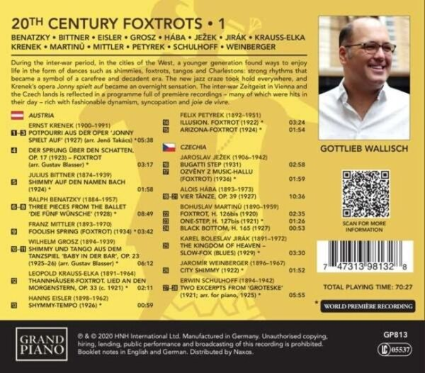 20th Century Foxtrots Vol.1 - Gottlieb Wallisch