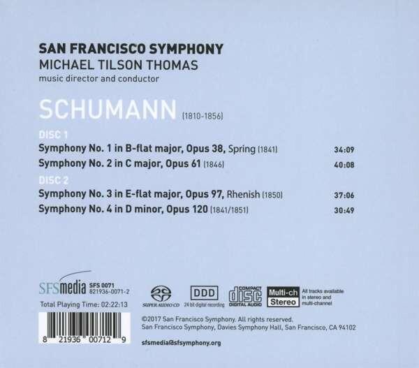 Schumann: Symphonies Nos. 1 - 4 - Michael Tilson Thomas