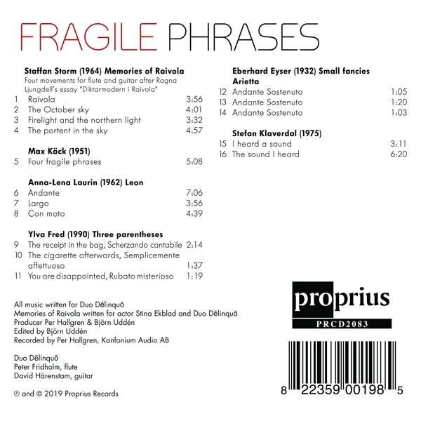 Fragile Phrases - Duo Delinquo
