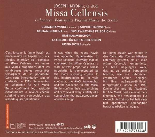 Joseph Haydn: Missa Cellensis Hob.XXII5 - Akademie für Alte Musik Berlin
