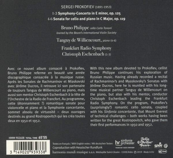Prokofiev Sinfonia Concertante. Son - Christoph Eschenbach