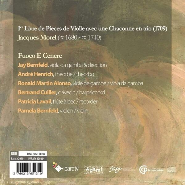 Jacques Morel: Pieces De Viole (1709) - Fuoco E Cenere