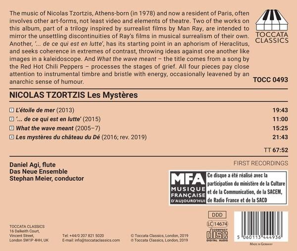 Nicolas Tzortzis: Les Mystères - Daniel Agi