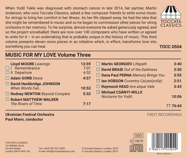 Music For My Love Vol.3 - Paul Mann