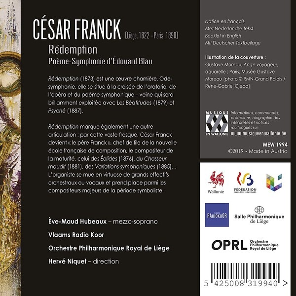 Cesar Franck: Redemption - Herve Niquet