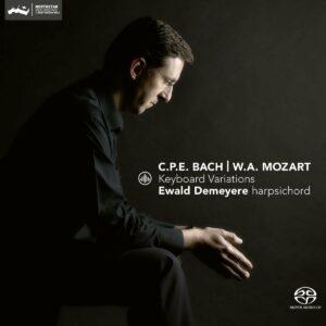 CPE Bach / Mozart: Keyboard Variations - Ewald Demeyere