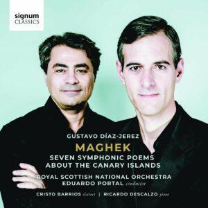 Gustavo Díaz-Jerez: Maghek, Seven Symphonic Poems About The Canary Islands - Royal Scottish National Orchestra