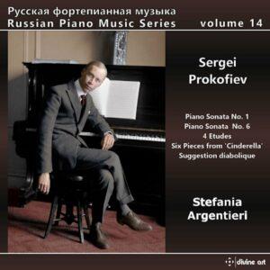 Sergei Prokofiev: Russian Piano Music, Vol. 14 - Stefania Argentieri