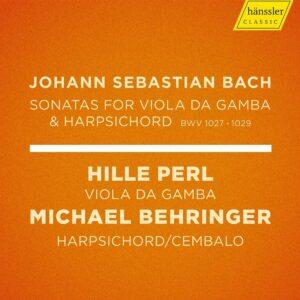 Bach: Sonatas For Viola Da Gamba & Harpsichord - Hille Perl
