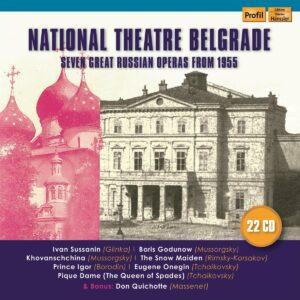 Glinka / Mussorgsky / Rimsky-Korsakov / Borodin / Tchaikov: National Theatre Belgrade - Seven Great Russian Op - Miroslav Cangalovic