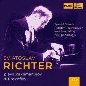 Sviatoslav Richter Plays Rachmaninov & Prokofiev