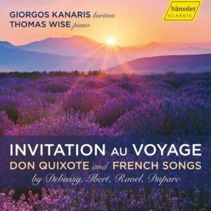 Invitation Au Voyage: Don Quixote And French Song - Giorgos Kanaris