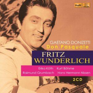 Gaetano Donizetti: Don Pasquale - Fritz Wunderlich
