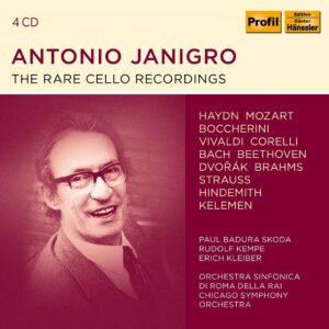 The Rare Cello Recordings -  Antonio Janigro