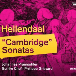Pieter Hellendaal: Cambidge Sonatas - Johannes Pramsholer