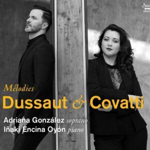 Dussault / Covatti: Melodies - Adriana Gonzalez