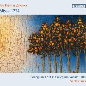 Jan Dismas Zelenka: Missa 1724 - Vaclav Luks