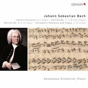 Bach: Italian Concerto, 2 Partitas & Chromatic Fantasia and Fugue in D minor - Konstanze Eickhorst