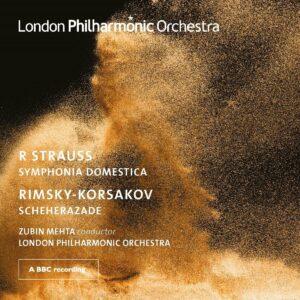 Strauss: Symphonia Domestica / Rimsky-Korsakov: Scheherazade - Zubin Mehta