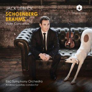 Brahms / Schonberg: Violin Concertos - Jack Liebeck