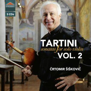 Giuseppe Tartini: Sonatas For Solo Violin Vol. 2 - Crtomir Siskovic