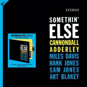 Somethin' Else (Vinyl) - Cannonball Adderley