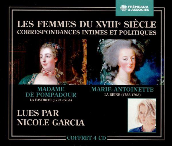 Madame De Pompadour, La Favorite / Marie-Antoinette, La Reine - Nicole Garcia